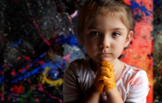 Аэлита Андре, Маленький Ребенок И Большой Художник