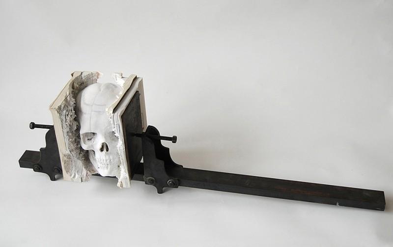 Деревянная скульптура. Маскулл Лассер