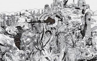 Душан Кртолица - юный художник из Сербии