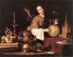 Живопись | Antonio de Pereda | Аллегория бренности, 1634