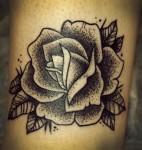 Татуировка   dotwork style   08