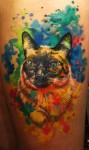 Татуировка | Акварельная Татуировка
