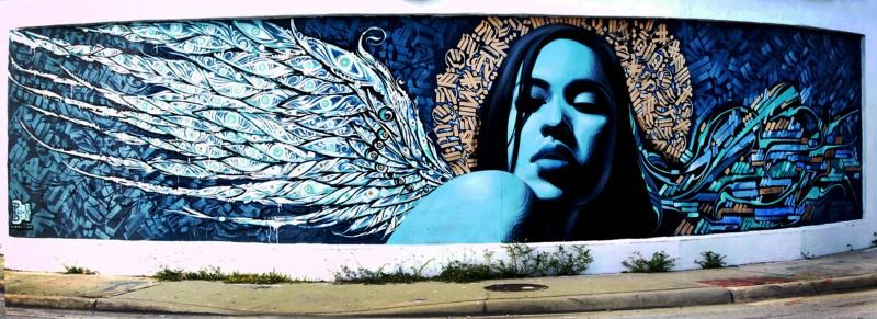 Эль Мак. Граффити уличного художника
