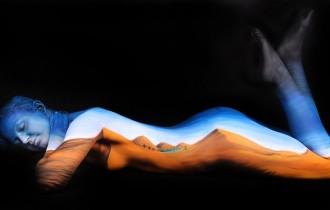 Песчаные Дюны Человеческих Изгибов От Гезине Марведель