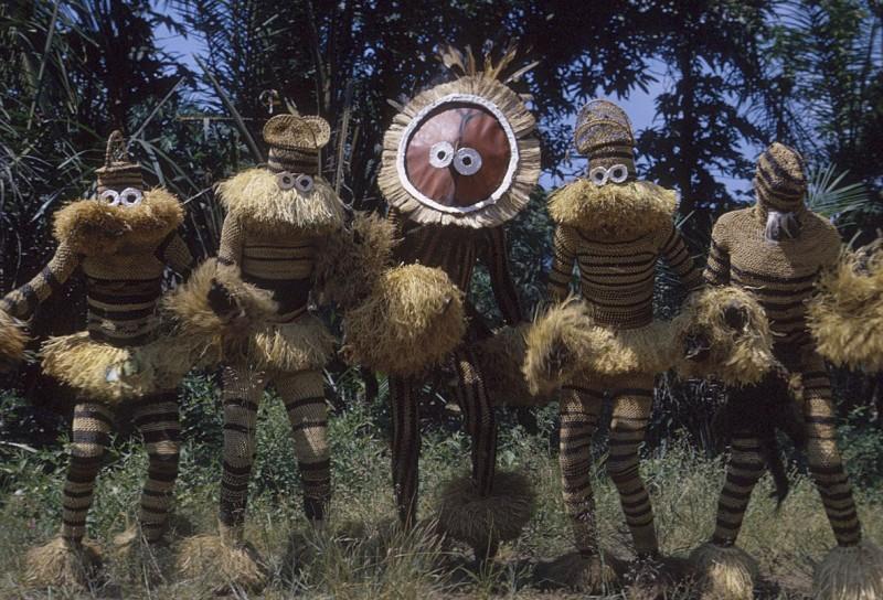 Ритуальные маски племени Pende
