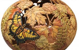 Сказочные превращения тыквы от художницы Мэрилин Сандерлэнд