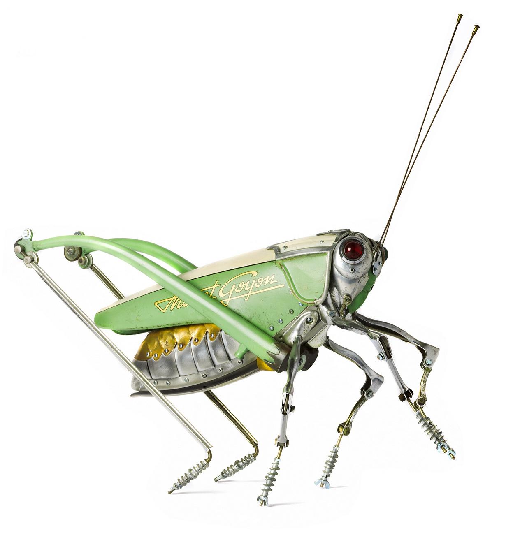 Механические насекомые своими руками