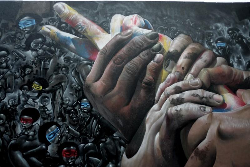 Maclaim: фотореализм в граффити