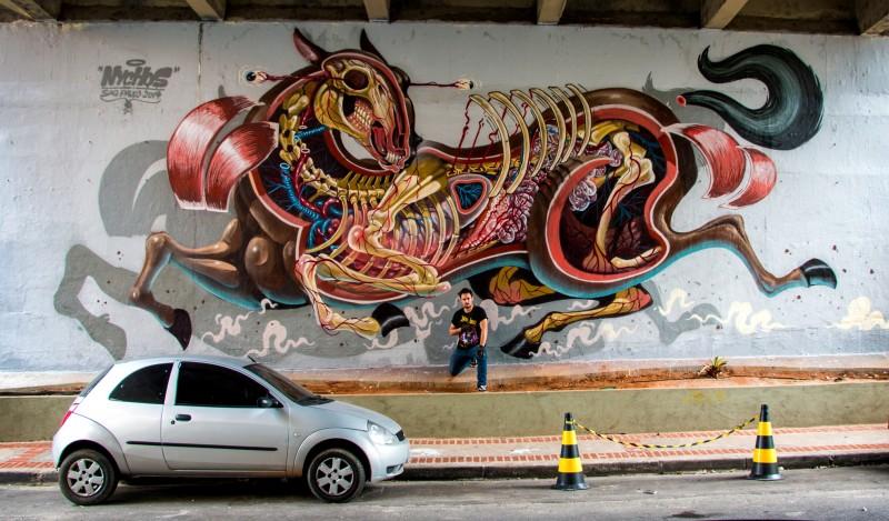 Никос и его анатомичные граффити
