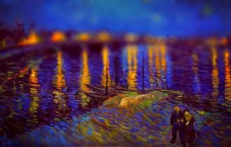 Картины Ван Гога С Эффектом «Тилт-Шифт»