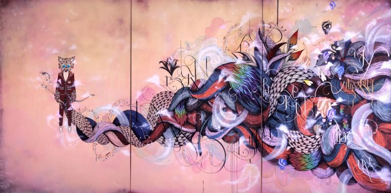 Дуэт стрит-арт художников Metroplastique