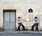 Стрит-арт | Levalet | Chiffoniers