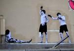 Стрит-арт | Levalet | Eternel combat