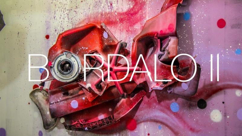 Артур Бордало и его картины из мусора