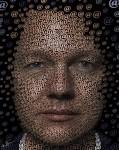 Живопись |Ben Heine | Julian Assange