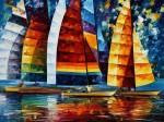 Живопись | Леонид Афремов | Sea Regatta