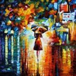 Живопись | Леонид Афремов | Rain Princess