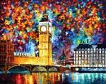 Живопись | Леонид Афремов | Big Ben London
