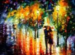 Живопись | Леонид Афремов | Two Couples