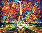Живопись | Леонид Афремов | Paris of my dream