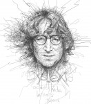 Живопись | Vince Low | John Lennon