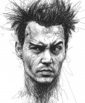 Живопись   Vince Low   Johnny Depp