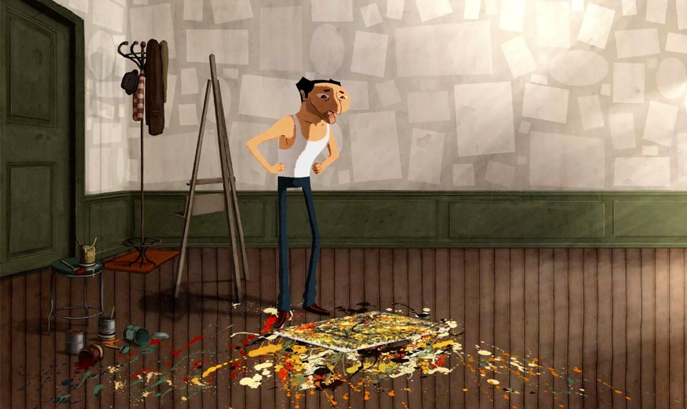 Кадр из анимационного фильма Dripped