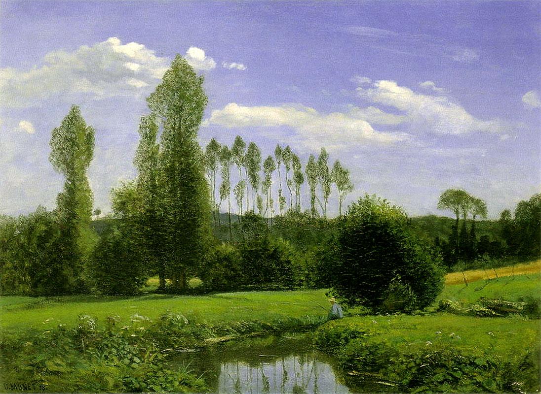 Claude Monet «Вид на Рюэлль»