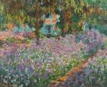 Живопись | Клод Моне | Ирисы в саду Моне