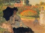 Живопись | Клод Моне | Камилла Моне в Саду, 1873