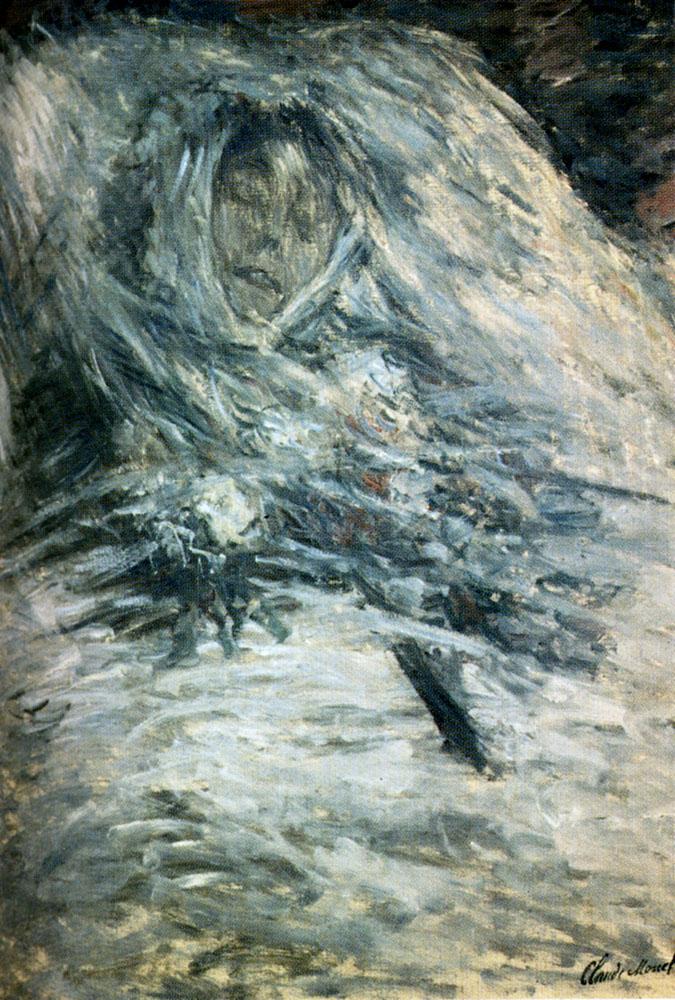Claude Monet «Камилла на Смертном Одре»
