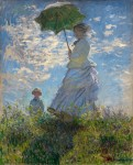Живопись | Клод Моне | Прогулка, женщина с зонтиком, 1875