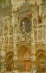 Живопись | Клод Моне | Руанский Собор, Ворота, Пасмурный День