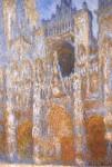 Живопись | Клод Моне | Руанский Собор, Главный Вход в Середине Дня