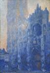 Живопись | Claude Monet | Руанский Собор, Главный Вход и Тур д'Альбан на Рассвете