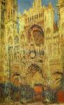 Живопись | Клод Моне | Руанский Собор, на Закате