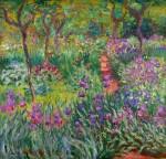 Живопись | Клод Моне | Сад с ирисами в Живерни