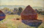 Живопись | Claude Monet | Стога Сена в Солнечном Свете. Полдень