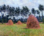 Живопись | Claude Monet | Стога Сена. Пасмурный День