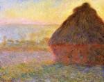 Живопись | Claude Monet | Стог Сена на Закате
