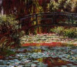 Живопись | Клод Моне | Японский мостик (Мостик над прудом с водяными лилиями)