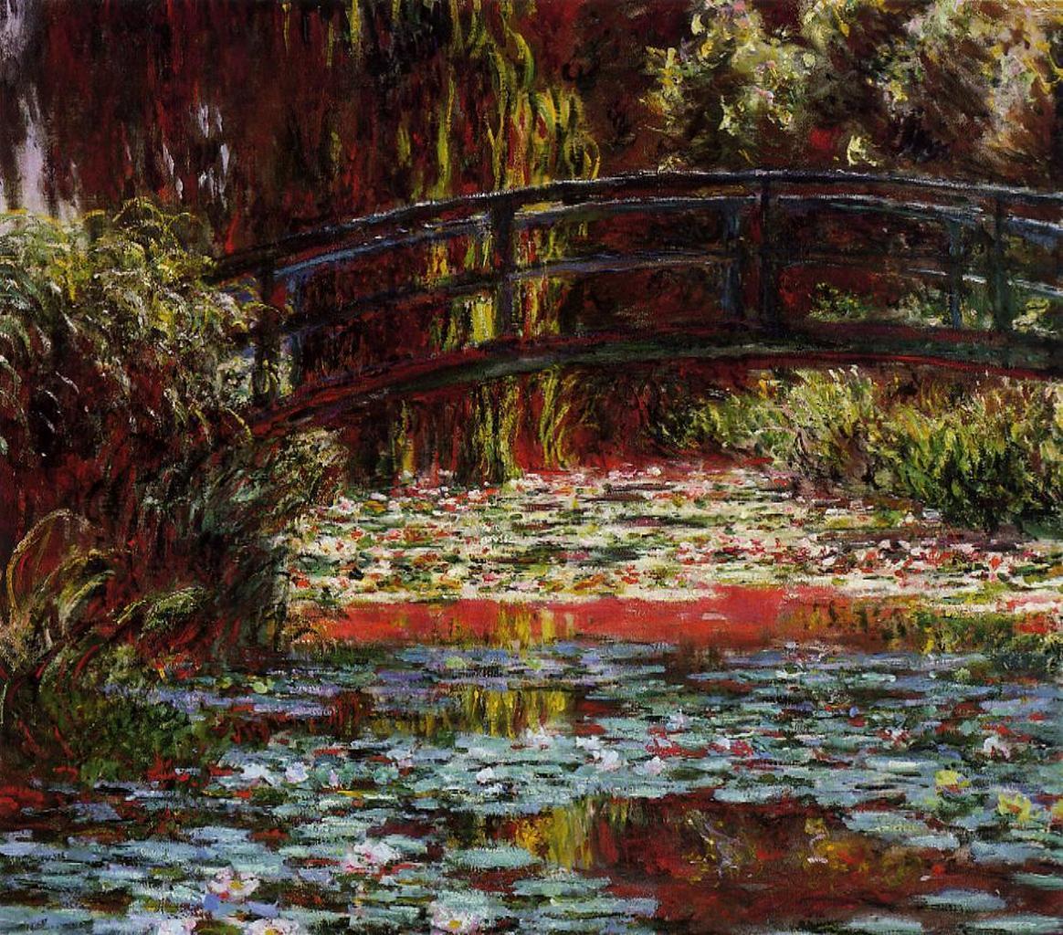 Claude Monet «Японский мостик»