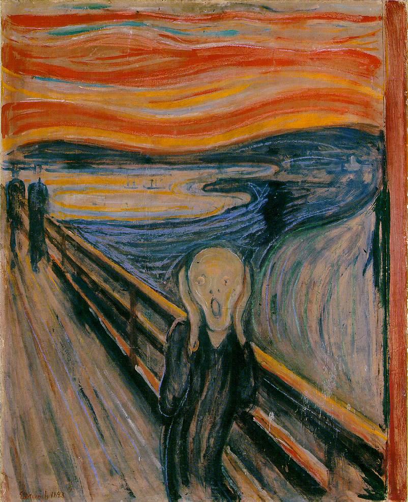 Edvard Munch (Skrik)