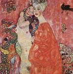 Живопись | Густав Климт | Подруги, 1916-17. Уничтожена в 1945