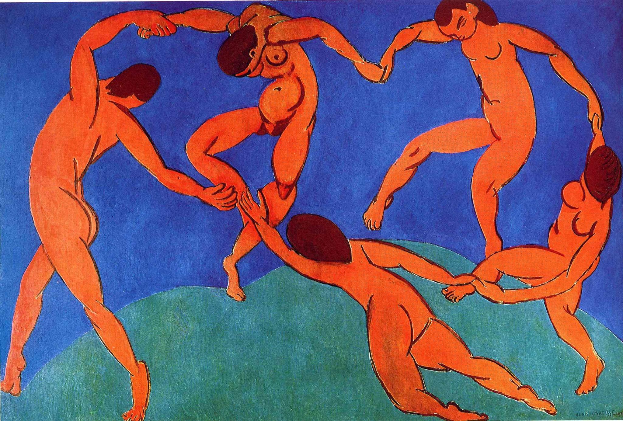 Henri Matisse (Dance II 1910)