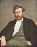 Живопись | Pierre-Auguste Renoir | Alfred Sisley Portrait