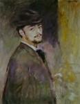 Живопись | Pierre Auguste Renoir | Autoportrait (1876)