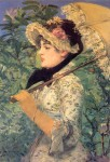 Репортаж | Sotheby's | Édouard Manet | Spring Study of Jeanne Demarsy