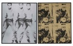 Репортаж | Sotheby's | Andy Warhol | Elvis-Presli and Marlon Brando