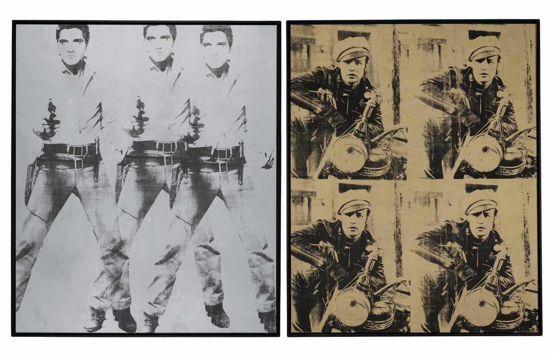 AndyWarhol (Elvis Presli and Marlon Brando)